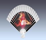 Colorful hand fan