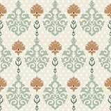 seamless pattern background six