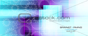 Abstract high tech background
