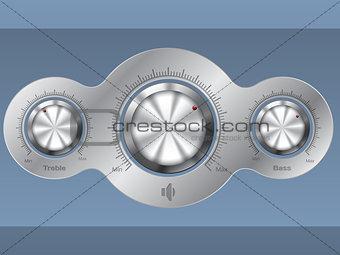 Audio control deck