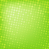 Abstract dotted green background