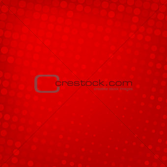 Abstract dotted red background