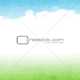 Grunge abstract summer background