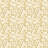 Seamless beige abstract ornate pattern