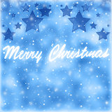 Merry Christmas greeting card border
