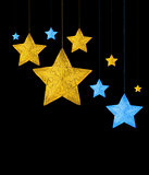 Decorative stars border