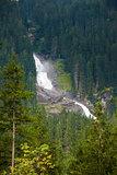 Krimmler Watterfall on Austrian Alps