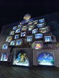Crib in Piazza Castello Turin Italy