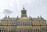 The Royal Palace at the Dam Square in Amsterdam