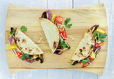 Roasted Vegetable Tacos