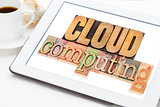 cloud computing on a tablet