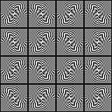 Design seamless monochrome movement background