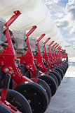 Agricultural drill for cereals