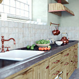 vintage kitchen interior
