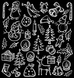 Christmas objects and elements