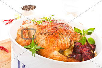 Grill chicken.