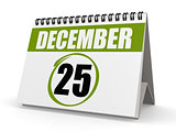 December 25, Christmas