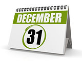 December 31 New Year eve