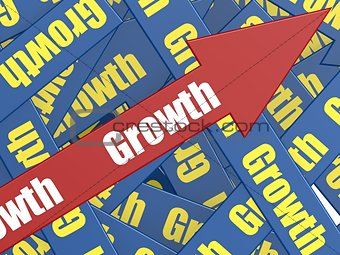 Growth arrow
