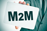 M2M, for the machine to machine technologies