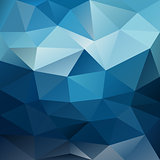 blue night sky triangular background