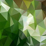 green forest triangular background