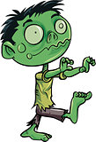 Cartoon cute zombie