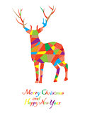 Mosaic Reindeer