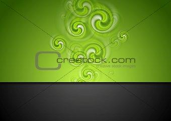 Bright modern swirl background