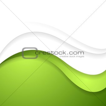 Bright abstract waves background