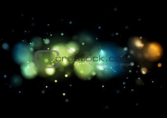 Abstract shiny lights background