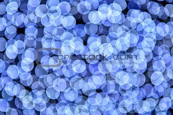 abstract blue bokeh defocused background