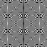 Seamless geometric pattern. Op art texture.