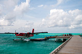 Seaplane at the dock