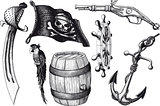 Pirate set attributes