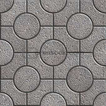 Grey Paving Slabs. Tileable Texture.