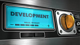 Development on Display of Vending Machine.