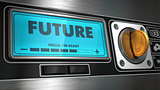 Future on Display of Vending Machine.