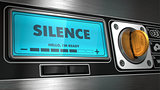 Silence on Display of Vending Machine.