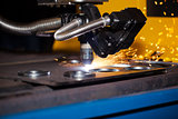 Industrial cnc plasma cutting machine