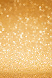 Golden glitter abstract background