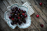 Fresh Black Cherries