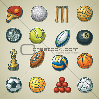 Freehand icons - Sports