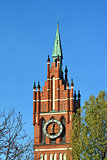 Church of the Holy family. Kaliningrad (until 1946 Koenigsberg),