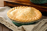 Fresh baked pot pie