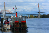 New Westminster river boat