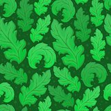 Leafy seamless background 5