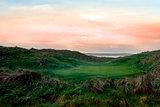 lush green Ballybunion links golf course