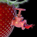 Strawberry Juice Spigot