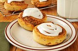Hot cinnamon rolls